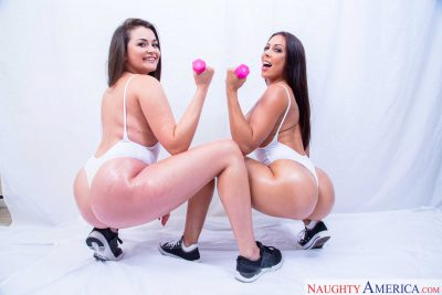 Allie Haze Rachel Starr in Bustin Ass VR 02