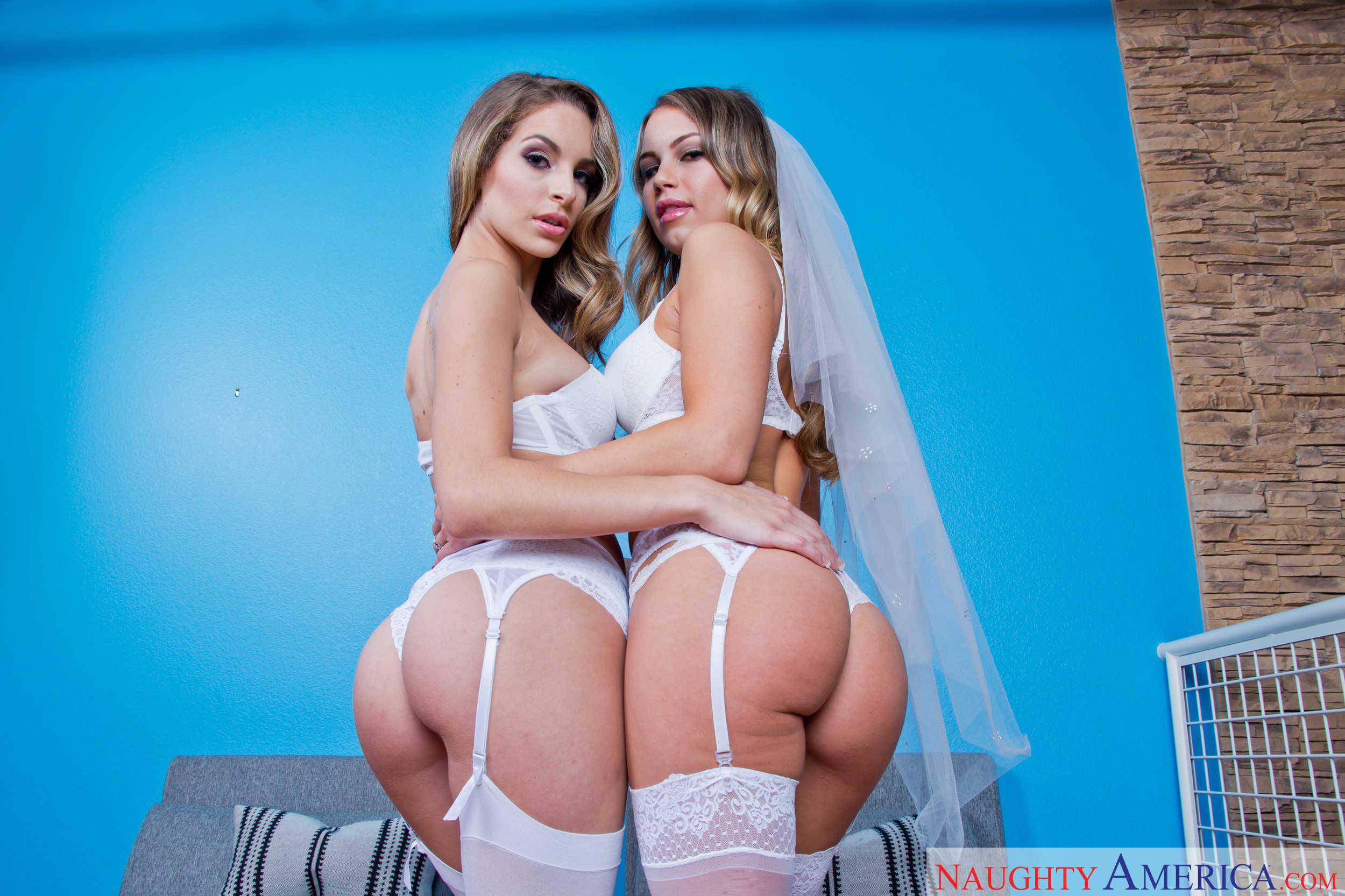 Vixen babysitters kimmy granger amp sydney cole ffm threesome