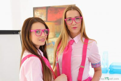 Alexis Crystal and Timea Bella in Horny Babes Never Bored 01