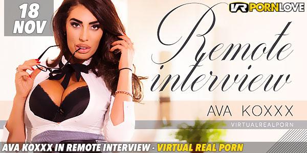 Ava Koxxx in Remote Interview F Image