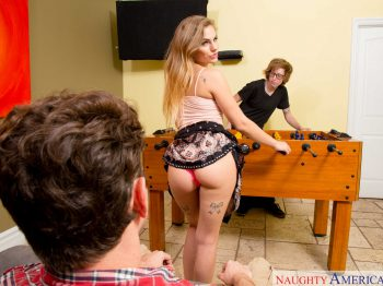 Sydney Cole in Scoring With My Sisters Hot Friend 01