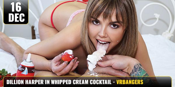 Dillion-Harper-In-Whipped-Cream-COCKtail
