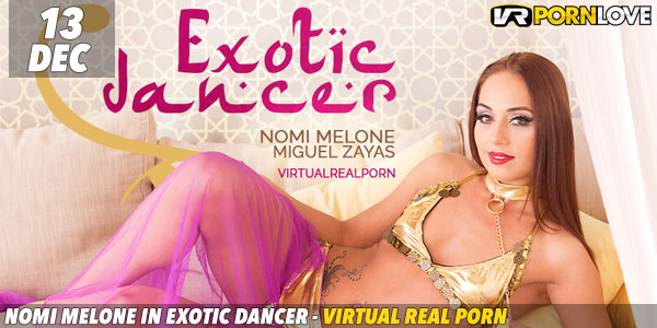 Nomi Melone in Exotic Dancer F