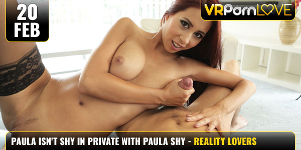 Paula Isnt Shy in Private With Paula Shy f