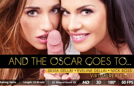 And The Oscar Goes To Eveline Dellai Silvia Dellai Review Poster