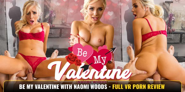 Be My Valentine with Naomi Woods from Wankz VR Image