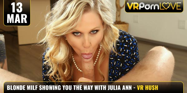 Blonde Milf Showing You The Way Julia Ann Feat