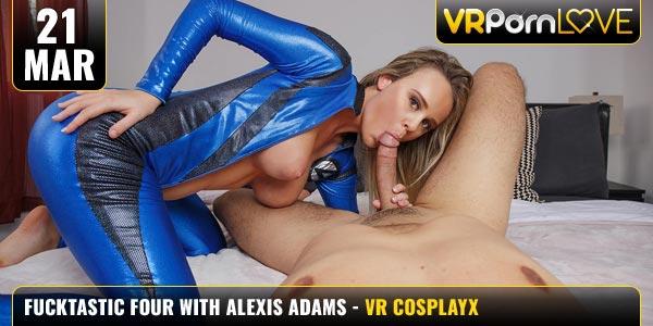 Fucktastic Four Alexis Adams feat