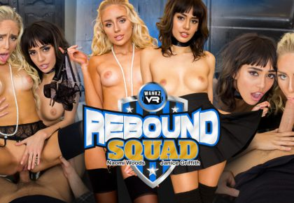 Full Review Rebound Squad Janice Griffith Naomi Wods Poster