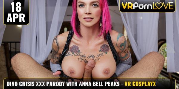 Dino Crisis XXX Parody Anna Bell Peaks Feat