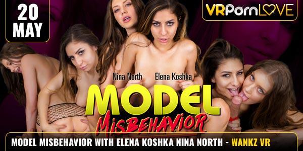 Model Misbehavior Elena Koshka Nina North Feat