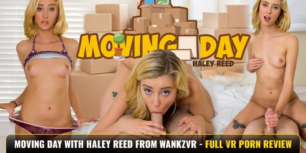 Moving Day Haley Reed WankzVR Review Feat
