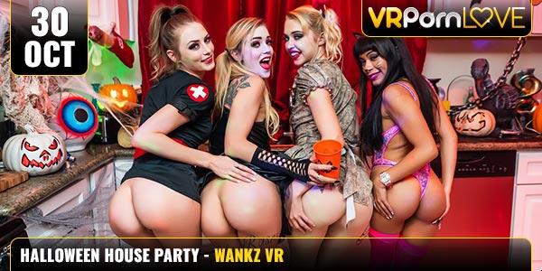 Aryana-Chloe-Kali-Kyler-Halloween-House-Party